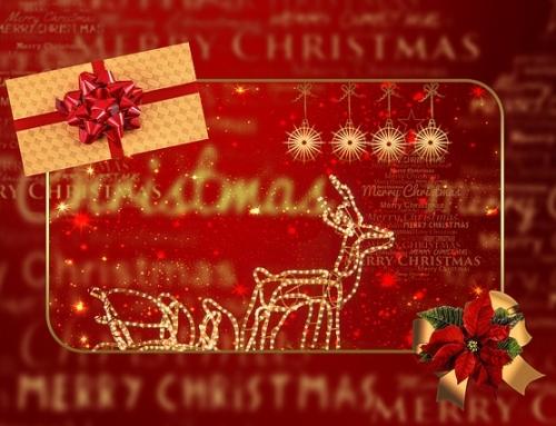 Het is 1 december en de kerst komt eraan
