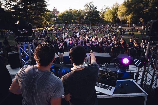 festivals festival feestjes feest park dj