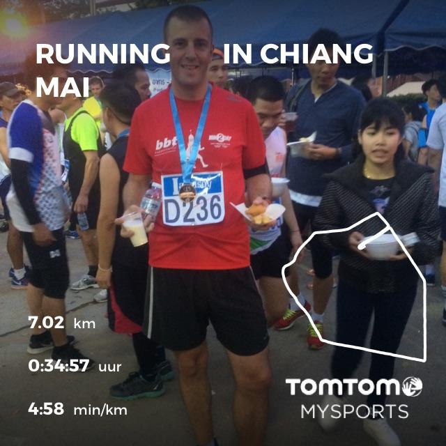 hardloopwedstrijd in thailand hardlopen chiang mai