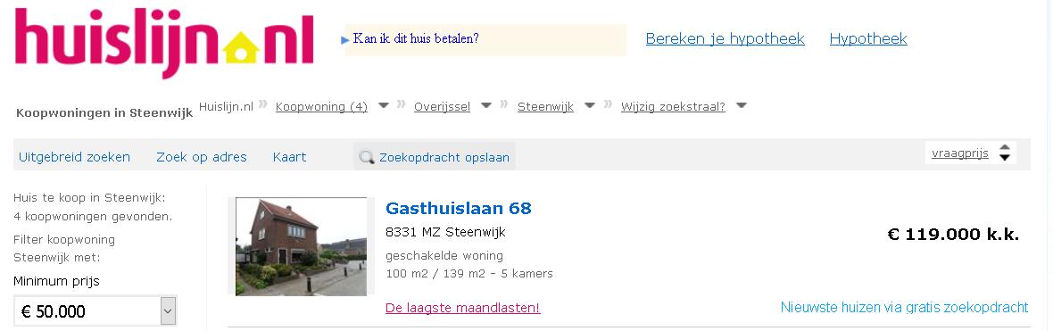 huislijn.nl huislijn