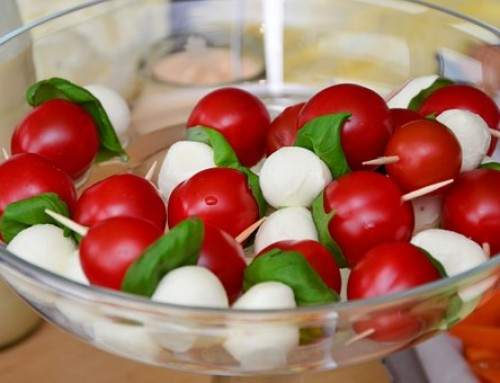 Recept: Mozzarella met tomaat & basilicum
