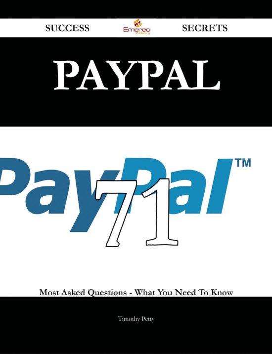 hoe werkt paypal boek bol 71 vraag en antwoord