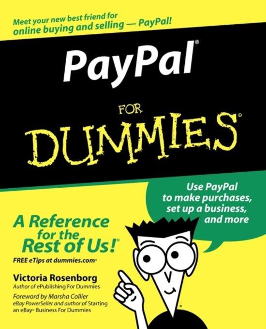 hoe werkt paypal for dummies