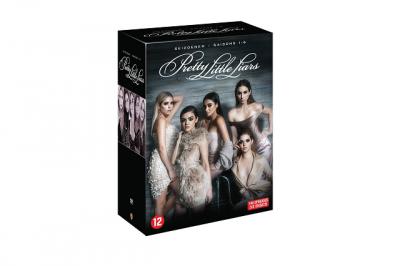 pretty little liars dvd box zes 6 seizoenen