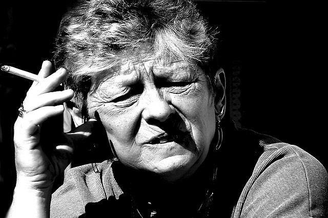 stoppen met roken oude vrouw champix
