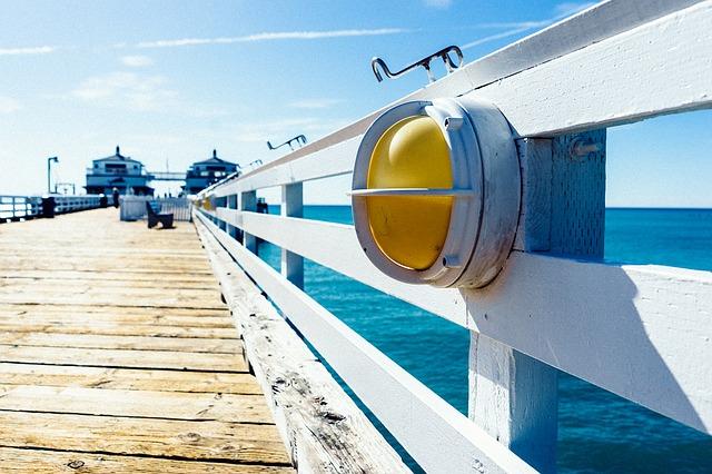 vakantiekater bruk strand pier